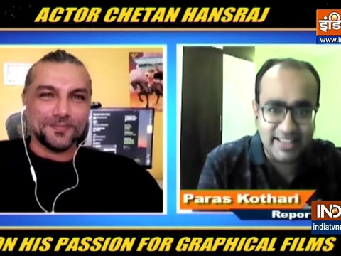 EXCLUSIVE | Chetan Hansraj on his passion for graphical films