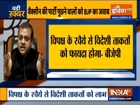 Some Political Parties don't want India to be Aatmnirbhar : Sambit Patra