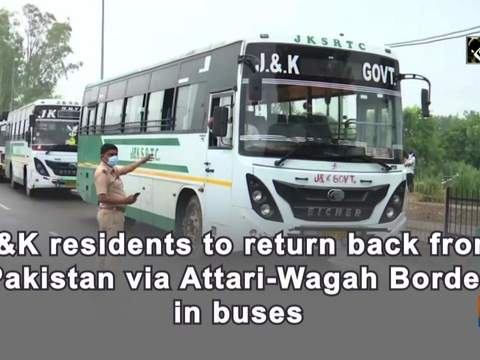 JK residents to return back from Pakistan via Attari-Wagah Border in buses