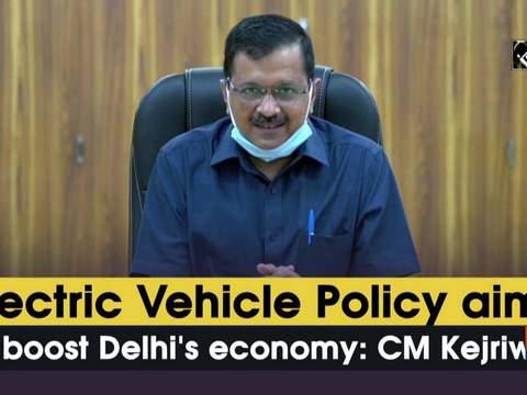 Electric Vehicle Policy aims to boost Delhi's economy: Delhi CM