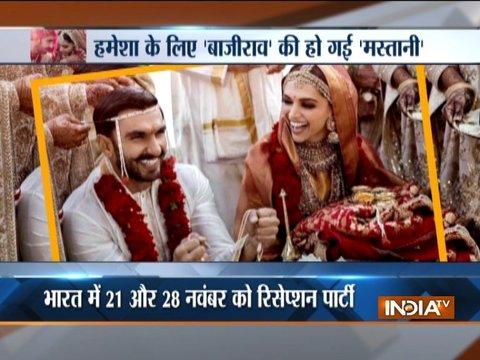 एक-दूसरे के हुए रणवीर सिंह और दीपिका पादुकोण, जानिए उनकी शादी में क्या था ख़ास
