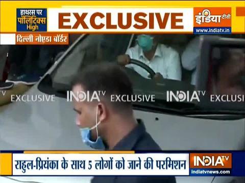 Rahul Gandhi, Priyanka leaves for Hathras