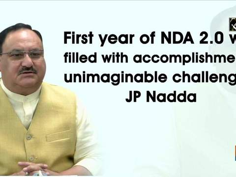First year of NDA 2.0 was filled with accomplishments, unimaginable challenges: JP Nadda