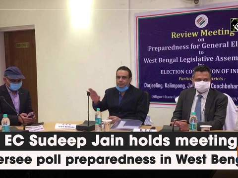 Dy EC Sudeep Jain holds meeting to oversee poll preparedness in West Bengal
