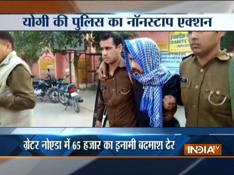 Wanted criminal with Rs 65 thousand bounty on head shot-down by UP Police in Grater Noida