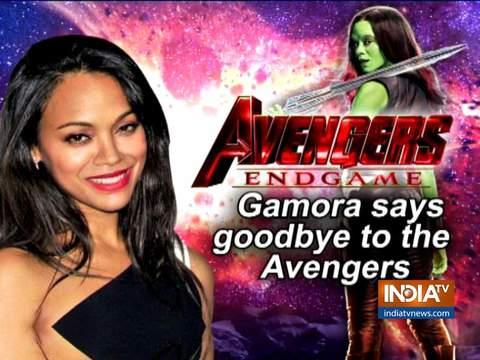Avengers: Endgame के प्रीमियर पर गमोरा हुईं इमोशनल