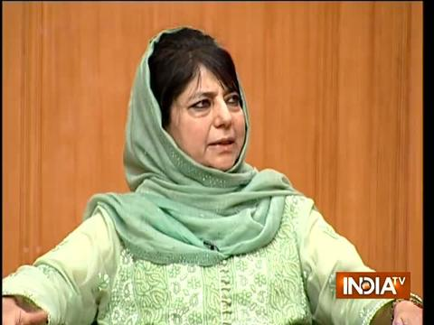 Kashmir issue cannot be solved with guns, talks with Pakistan only way out: Mehbooba Mufti
