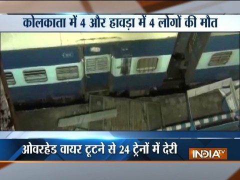 West Bengal: Eight killed in Kolkata storm, rail, road, air traffic disrupted