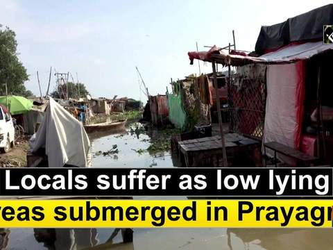 Locals suffer as low lying areas submerged in Prayagraj
