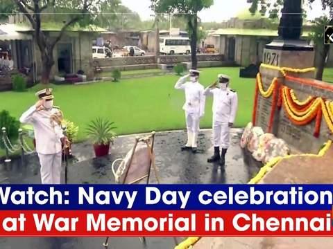 Watch: Navy Day celebrations at War Memorial in Chennai