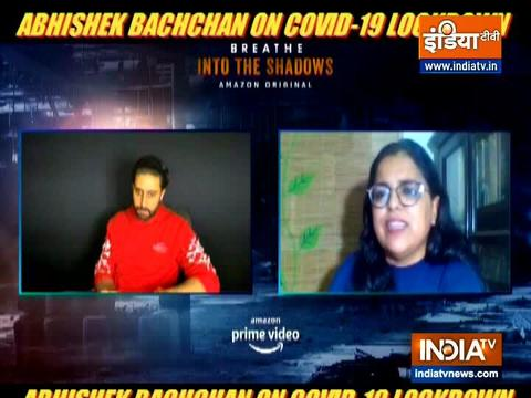 Here's what Abhishek Bachchan has to say about Covid-19 lockdown