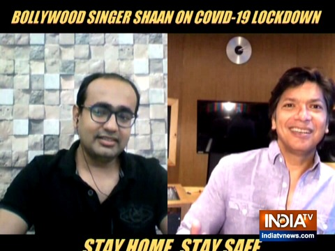 Singer Shaan talks exclusively to IndiaTV about the online concert of Sa Re Ga Ma Pa