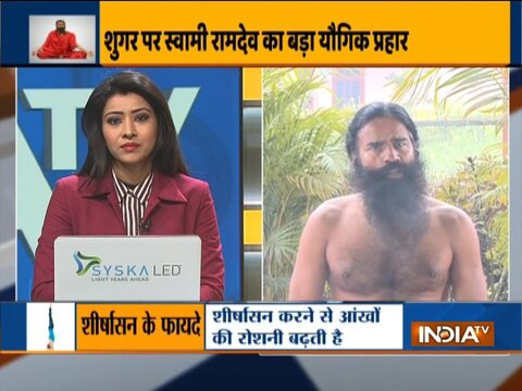 Know from Swami Ramdev effective remedy to regain weight loss due to diabetes