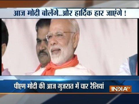 Assembly Elections 2017: PM Modi to address four rallies in Gujarat