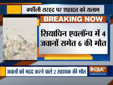 Avalanche hits Indian army post in Himalayas