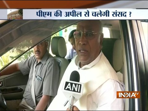 Govt not ready to have discussion over no-confidence motion, says Mallikarjun Kharge