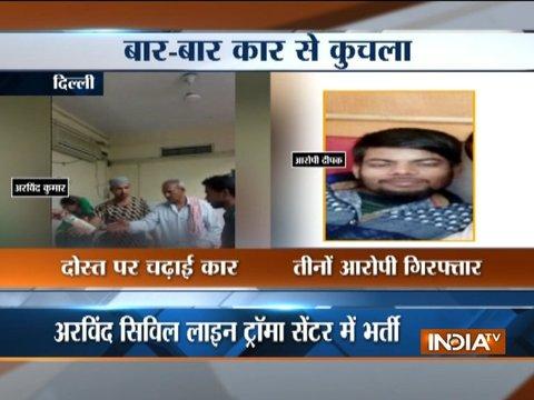 Three held for attempt to murder their friend in Delhi
