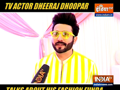 TV actor Dheeraj Dhoopar says he likes to experiment with his looks