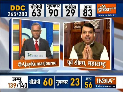 Jammu and Kashmir people have shown their faith in PM Modi - Devendra fadnavis