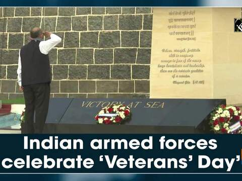 Indian armed forces celebrate 'Veterans' Day'