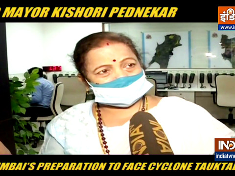 BMC Mayor Kishori Pednekar on Mumbai Preparation To Face Cyclone Tauktae | Exclusive