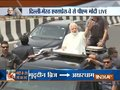 PM Modi holds road show after inauguration of first phase of Delhi-Meerut Expressway