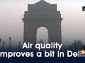 Air quality improves a bit in Delhi