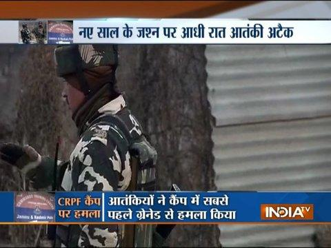 JK: Ahead of new year, terrorists storm CRPF Traning Center in Pulwama, 1 jawan martyred