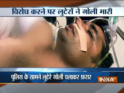 CRPF jawan hospitalised after hooligans who tried to rob his car open fire