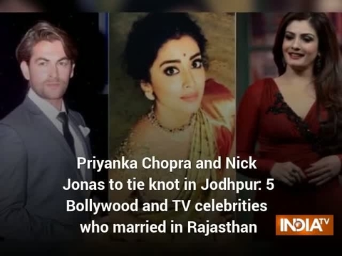 Priyanka Chopra and Nick Jonas to tie knot in Jodhpur: 5 Bollywood and TV celebrities who married in Rajasthan
