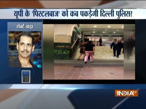दिल्ली में कानून-व्यवस्था को लेकर रॉबर्ट वॉड्रा ने जताई चिंता