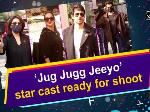 'Jug Jugg Jeeyo' star cast ready for shoot