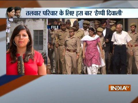 Aarushi Talwar Murder Case: Talwars' lawyer submits copy of release order in Ghaziabad court