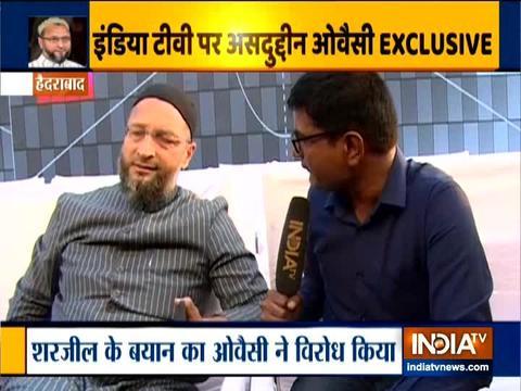 Asaduddin Owaisi Slams Sharjeel Imam's 'Assam Cutoff Call'