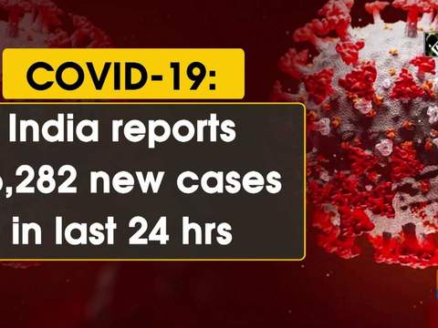 COVID-19: India reports 56,282 new cases in last 24 hrs