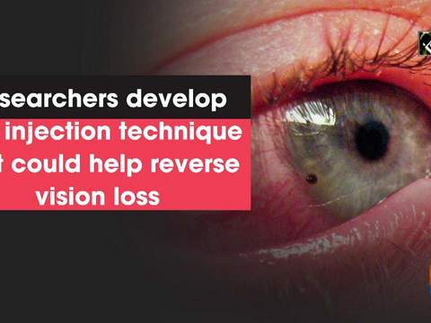 Researchers develop cell injection technique that could help reverse vision loss