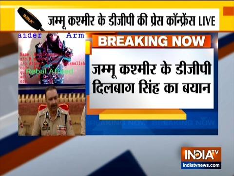लश्कर के आतंकी आसिफ ने पिछले 1 महीने में सोपोर में काफी आतंक मचाया था: जम्मू-कश्मीर डीजीपी