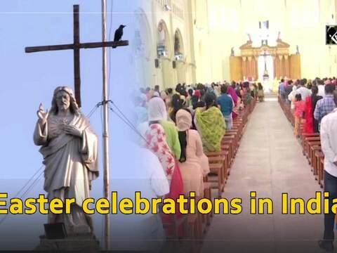 India celebrates Easter festival commemorating resurrection of Jesus Christ