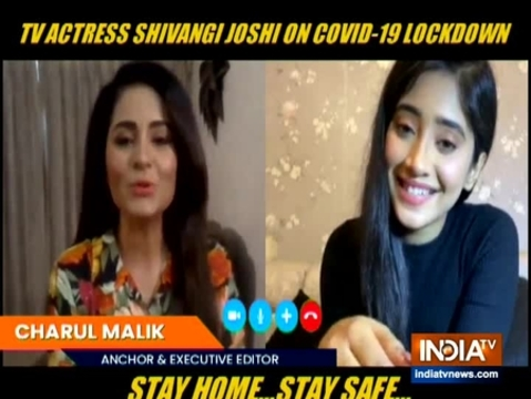 Shivangi Joshi opens up about how she is spending time at home with family