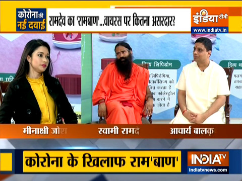 EXCLUSIVE: Watch Yog Guru Baba Ramdev Speaks about Patanjali's New medicine for COVID 19