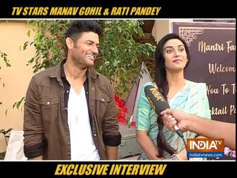 Shaadi Mubarak stars Rati Pandey and Manav Gohil on success of their show