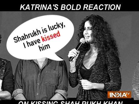 जानिए फिल्म ज़ीरो में शाहरुख़ के साथ अपने किसिंग सीन को लेकर कटरीना ने क्या कहा