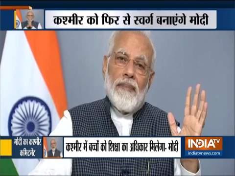प्रधानमंत्री नरेंद्र मोदी ने राष्ट्र को किया संबोधित, जानिए भाषण की बड़ी बातें