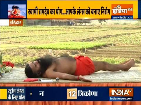 Swami Ramdev says air pollution is dangerous for Cancer patients