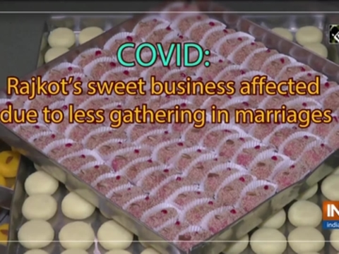 COVID: Rajkot's sweet business affected due to less gathering in marriages