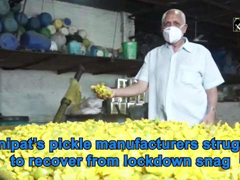 Panipat's pickle manufacturers struggle to recover from lockdown snag