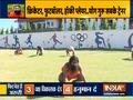 Swami Ramdev suggests doing suryanamaskar for ligament rupture