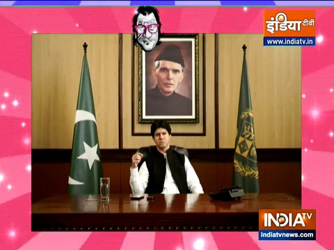 Fakir-e-Azam: Imran khan lands in trouble after showing wrong map of India, watch political satire