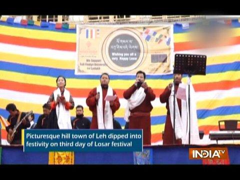 Leh celebrates Losar festival with great zeal