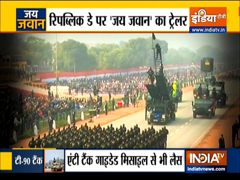 India is all set to display its Strength on Republic Day Parade